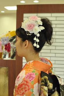 アップ着付け|Hair Design ECRUのヘアスタイル