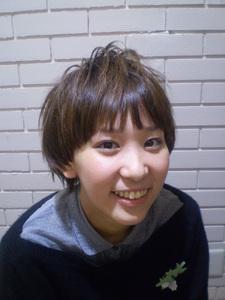 ボーイッシュすぎないガールズショート!|風 〜fuu〜のヘアスタイル