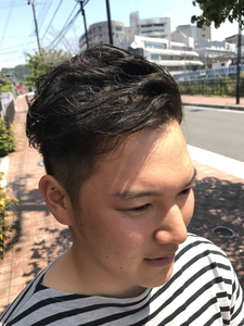 爽やかツーブロックスタイル|hair shantiiのヘアスタイル