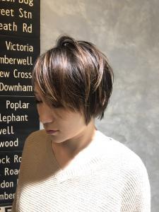 ショートでもボーイッシュにならず、大人かわいい!!|hair shantiiのヘアスタイル