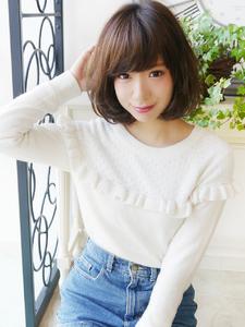 可愛いSweet☆ミディアムボブ hair jurer deuxのヘアスタイル