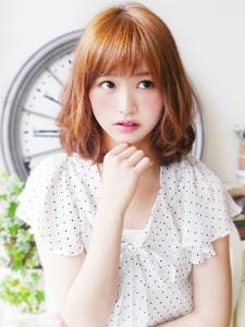 ボワふわSweet☆ミディアムロブ hair jurer deuxのヘアスタイル