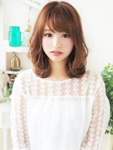 愛され大人カワイイ☆セミディロブ|hair jurer deuxのヘアスタイル