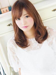 ゆるふわ可愛いナチュラルフェミニン☆|hair jurer deuxのヘアスタイル