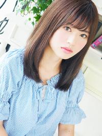 Natural☆フェミニンストレート☆