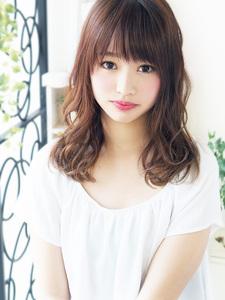 Natural カワイイ大人女子セミディ☆|hair jurer deuxのヘアスタイル