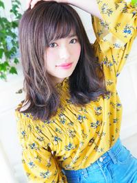 外ハネ可愛いナチュラルフェミニン☆