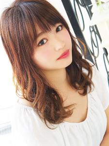 大人Natural カワイイ女子セミディ☆|hair jurer deuxのヘアスタイル
