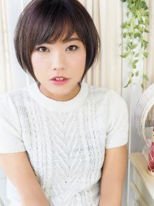 大人ナチュラル可愛いショートボブ☆|hair jurer deuxのヘアスタイル