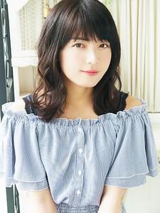可愛いナチュラルウェーブ☆ hair jurer deuxのヘアスタイル