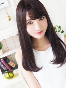 ワンカール☆ストレートロング hair jurer deuxのヘアスタイル