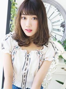 ゆるウェーブ☆フェミニンボブ★|hair jurer deuxのヘアスタイル