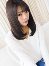 美ナチュラルストレート★|hair jurer deuxのヘアスタイル