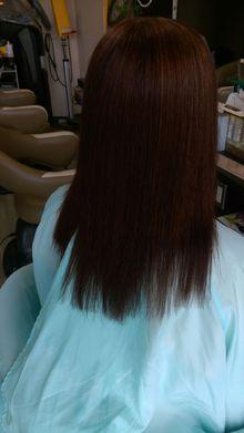 サラサラストレート|HAIR*LIBURのヘアスタイル