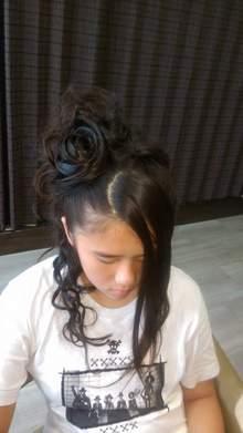 薔薇をイメージした大人スタイル|HAIR*LIBURのヘアスタイル