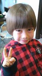 サラサラ天使の輪|HAIR*LIBURのキッズヘアスタイル
