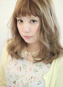 ゆる巻きウェーブ☆ HAIR SNOBのヘアスタイル