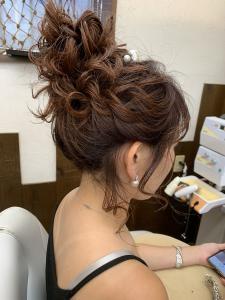 おだんごスタイル|HAIR MAKE FEEL 本店のヘアスタイル