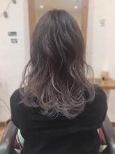 グラデーション HAIR MAKE FEEL 本店 仲村 千夏のヘアスタイル