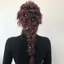 編みおろしスタイル|HAIR MAKE FEEL 本店のヘアスタイル