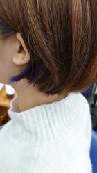 イヤリングカラー|HAIR MAKE FEEL 本店のヘアスタイル