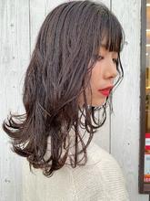 バイオレットアッシュ|HAIR MAKE FEEL 本店 仲村 千夏のヘアスタイル