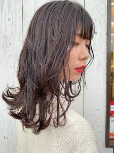 バイオレットアッシュ|HAIR MAKE FEEL 本店のヘアスタイル