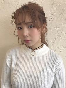 デートなどにぴったり!女の子らしいハーフアップスタイル|HAIR MAKE FEEL 本店のヘアスタイル