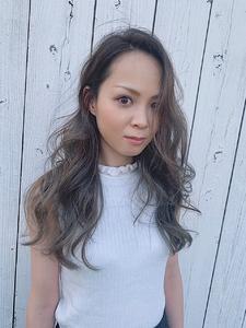 ハイライト!グラデーション!グレージュ|HAIR MAKE FEEL 本店のヘアスタイル