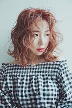 ダブルカラーでレッドオレンジ|HAIR MAKE FEEL 本店のヘアスタイル