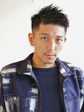 アップバングベリーショート|S. HAIR SALON 宮澤 卓也のメンズヘアスタイル