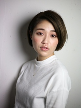 スリークショートボブ|S. HAIR SALON 宮澤 卓也のヘアスタイル