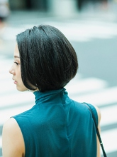 スリークグラデーションボブ|S. HAIR SALONのヘアスタイル
