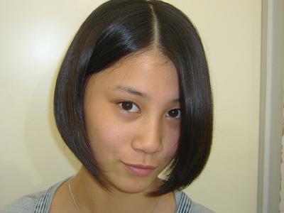 少しオトナっぽく|hausa./京急線金沢八景のヘアスタイル