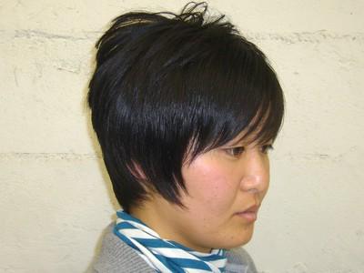 縦長に見えちゃいます|hausa./京急線金沢八景のヘアスタイル