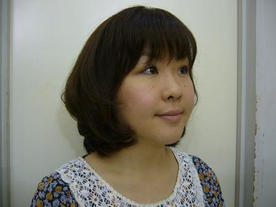 ふんわりシルエットで好感度UP!!|hausa./京急線金沢八景のヘアスタイル