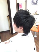 モテ2ブロックスタイル|Hair Collection MOVEのメンズヘアスタイル