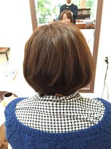スッキリ前下がりボブ|Hair Collection MOVEのヘアスタイル