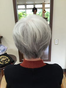 上品大人ショート|Hair Collection MOVEのヘアスタイル