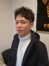 再現簡単パーマ!!|ヒーリングステージ TOMOのメンズヘアスタイル