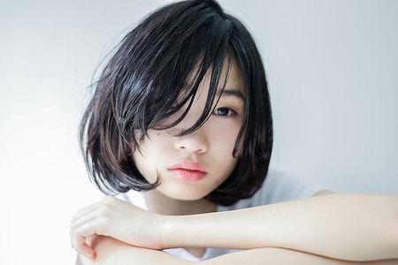 黒髪ボブスタイル|HEAVENS SHIBUYAのヘアスタイル