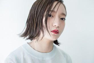 ウェットな質感でシャープなボブを|HEAVENS SHIBUYAのヘアスタイル