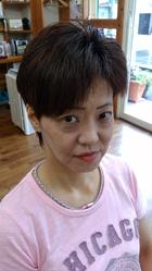 おしゃれなキュートで!ショート(*^_^*)|ヘア&フェイスサロン プリティ〜のヘアスタイル