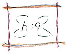 hi 9  | ハイク  のロゴ