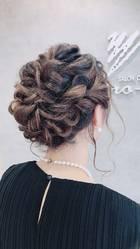 結婚式やパーティー、浴衣の際のヘアセットもお任せください。|サロン・ド・ヒロインのヘアスタイル