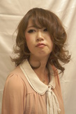 健草カラーで作った春カラー アッシュなのにツヤ!|Hair Produce ALiveのヘアスタイル