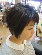 ショート|hair stage O2のヘアスタイル