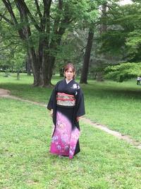 着物が似合う町京都