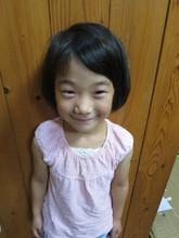 笑顔いっぱいの女の子|hair stage O2 みゆきのキッズヘアスタイル