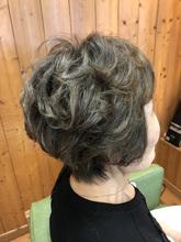 ふんわり空気感のあるエレガントスタイル|hair stage O2 松向 ふみのヘアスタイル
